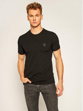 Trussardi Jeans Trussardi Jeans Tricou 52T00377 Negru Slim Fit
