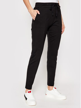 LOVE MOSCHINO LOVE MOSCHINO Pantalon jogging W151303E 2180 Noir Regular Fit