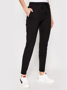 LOVE MOSCHINO LOVE MOSCHINO Teplákové kalhoty W151303E 2180 Černá Regular Fit