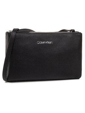 Calvin Klein Calvin Klein Дамска чанта Ck Everyday Duo Crossbody K60K606768 Черен