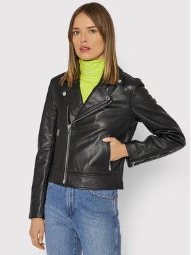 Calvin Klein Calvin Klein Кожено яке Essential K20K203252 Черен Regular Fit