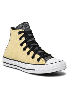 Converse Converse Trampki Ctas Hi 171368C Żółty