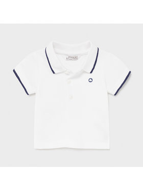 Mayoral Mayoral Polo 190 Blanc Regular Fit