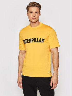 CATerpillar CATerpillar T-Shirt 2511242 Żółty Regular Fit