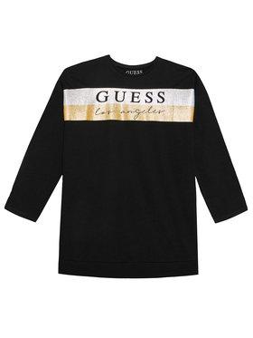 Guess Guess Μπλούζα J1YI02 K6YW1 Μαύρο Regular Fit