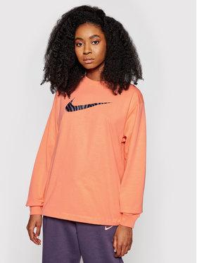 Nike Nike Džemperis Icon Clash DC5294 Oranžinė Loose Fit