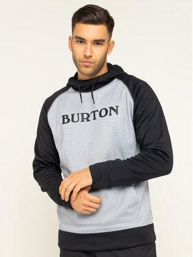 Burton Burton Bluza techniczna Crown Bndd 10891108021 Szary Regular Fit