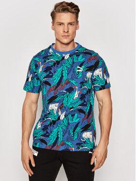 Puma Puma T-shirt Classics Graphics Aop Tee 599823 Šarena Regular Fit