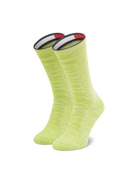 Tommy Jeans Tommy Jeans Ponožky Vysoké Unisex 701210863 Žltá