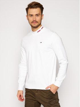 Tommy Jeans Tommy Jeans Longsleeve DM0DM09411 Biały Regular Fit