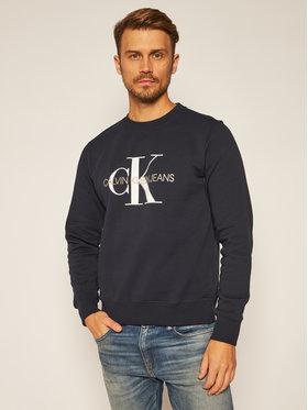 Calvin Klein Jeans Calvin Klein Jeans Bluză Monogram Logo J30J314313 Bleumarin Regular Fit