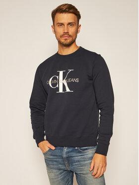 Calvin Klein Jeans Calvin Klein Jeans Džemperis Monogram Logo J30J314313 Tamsiai mėlyna Regular Fit