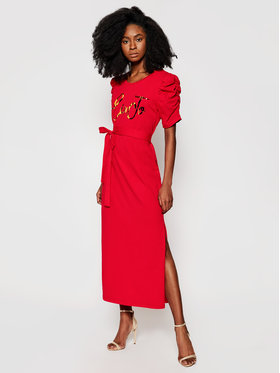 Liu Jo Liu Jo Ежедневна рокля WA1246 J5703 Червен Regular Fit