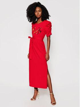 Liu Jo Liu Jo Každodenní šaty WA1246 J5703 Červená Regular Fit