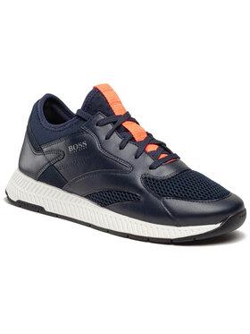 Boss Boss Sneakersy Titanium 50455539 10236368 01 Tmavomodrá