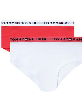 Tommy Hilfiger Tommy Hilfiger Set 2 perechi de chiloți de damă UG0UB90009 Colorat