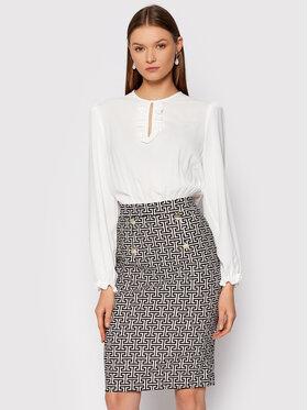 Rinascimento Rinascimento Každodenné šaty CFC0105054003 Biela Regular Fit