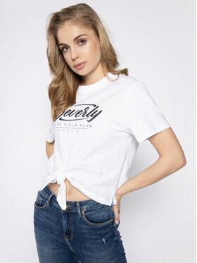 Guess Guess T-Shirt Beverly Tee W0GI30 K8HM0 Weiß Regular Fit