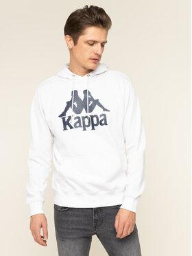 Kappa Kappa Mikina Taino 705322 Bílá Regular Fit