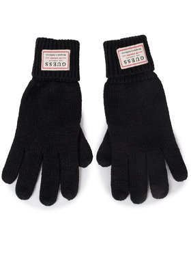 Guess Guess Мъжки ръкавици NOT COORDINATED GLOVES AM8586 WOL02 Черен
