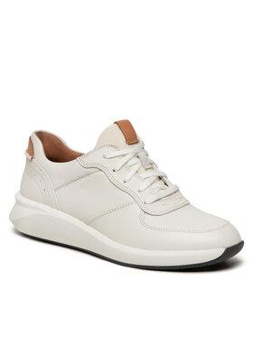 Clarks Clarks Sneakersy Un Rio Sprint 261626954 Biały