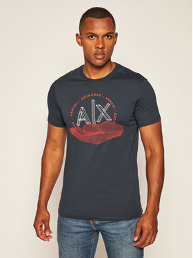 Armani Exchange Armani Exchange T-shirt 6HZTAN ZJN7Z 1510 Blu scuro Slim Fit