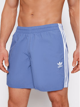adidas adidas Σορτς κολύμβησης 3-Stripe GN3527 Μπλε Regular Fit