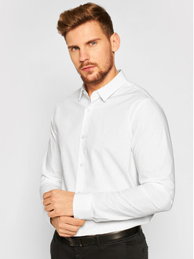 Calvin Klein Jeans Calvin Klein Jeans Košulja Stretch Shirt J30J316085 Bijela Slim Fit
