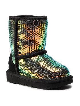 Ugg Ugg Pantofi T Classic II Stellar Sequin 1112245T Negru