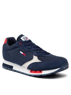 Tommy Jeans Tommy Jeans Sneakersy Retro Runner Mix EM0EM00699 Tmavomodrá