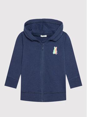 United Colors Of Benetton United Colors Of Benetton Sweatshirt 3J70MM270 Bleu marine Regular Fit