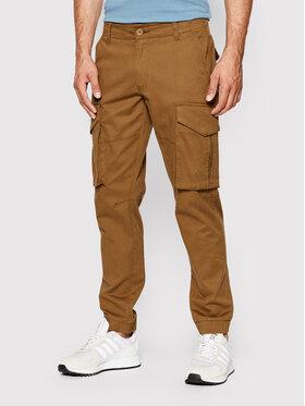 Only & Sons Only & Sons Spodnie materiałowe Kim Cargo 22020490 Brązowy Regular Fit