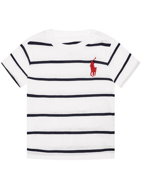 Polo Ralph Lauren Polo Ralph Lauren Marškinėliai 3,21E+11 Balta Regular Fit