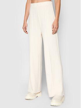 Vero Moda Vero Moda Spodnie dresowe Silky 10257424 Beżowy Regular Fit