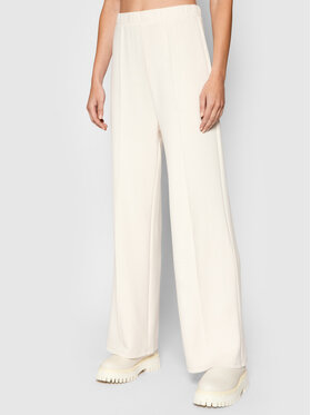 Vero Moda Vero Moda Teplákové nohavice Silky 10257424 Béžová Regular Fit