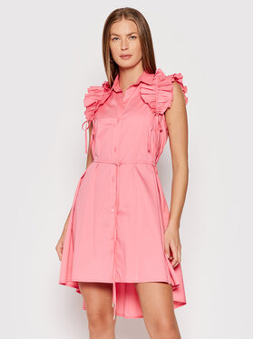Rinascimento Rinascimento Рокля тип риза CFC0017910002 Розов Regular Fit