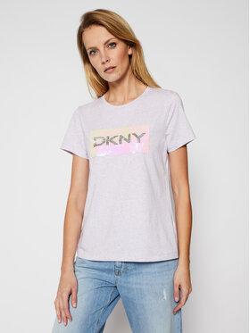 DKNY DKNY Tricou P0KWZDNA Roz Regular Fit