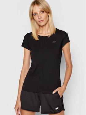 4F 4F T-shirt NOSH4-TSD001 Nero Regular Fit