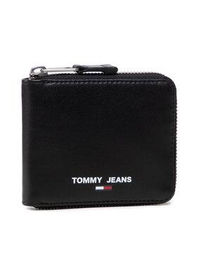 Tommy Jeans Tommy Jeans Duży Portfel Męski Tjm Essential Small Za AM0AM07920 Czarny