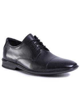 Clarks Clarks Pantofi Bensley Cap 261477137 Negru