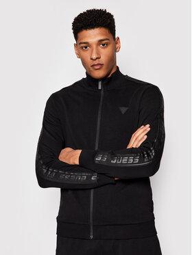 Guess Guess Μπλούζα Full Zip U1GA12 K6ZS1 Μαύρο Slim Fit