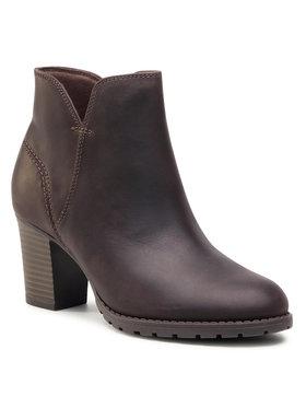 Clarks Clarks Členková obuv Verona Trish 261373334 Hnedá