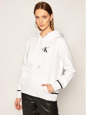 Calvin Klein Jeans Calvin Klein Jeans Bluză J20J214213 Alb Regular Fit