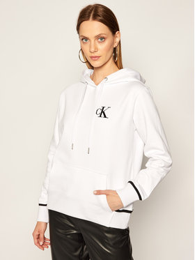 Calvin Klein Jeans Calvin Klein Jeans Pulóver J20J214213 Fehér Regular Fit