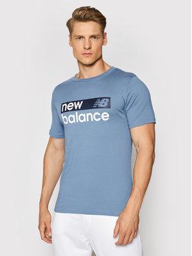 New Balance New Balance T-Shirt MT03917 Dunkelblau Regular Fit