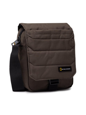 National Geographic National Geographic Мъжка чантичка Utility Bag Whit Flap N00705.11 Зелен