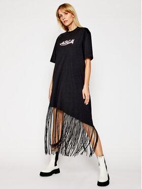 MSGM MSGM Kleid für den Alltag 3041MDA63 217298 Schwarz Regular Fit