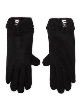 KARL LAGERFELD KARL LAGERFELD Dámske rukavice 206W3601 Čierna