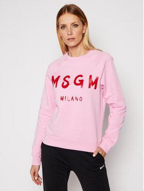 MSGM MSGM Mikina 3041MDM89 217299 Růžová Regular Fit