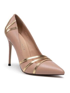 Eva Minge Eva Minge Pantofi cu toc subțire EM-35-09-001101 Bej
